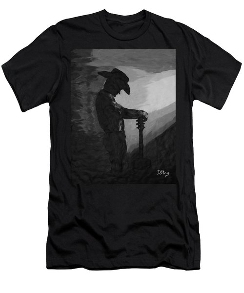 Spirit Of A Cowboy Men's T-Shirt (Athletic Fit)