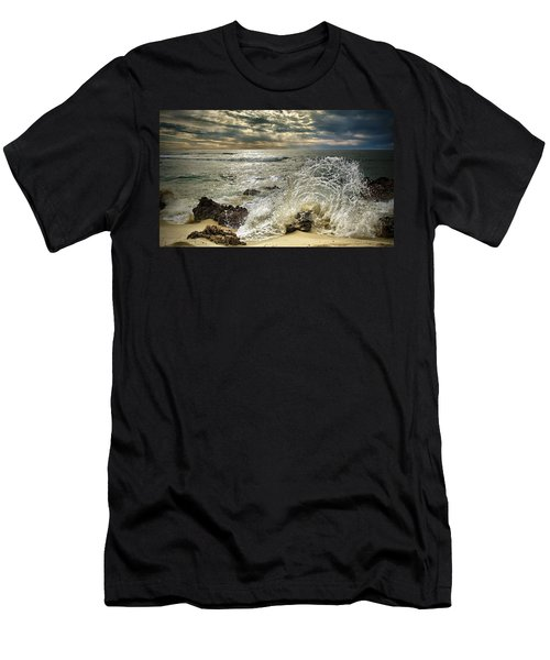 Splash N Sunrays Men's T-Shirt (Athletic Fit)