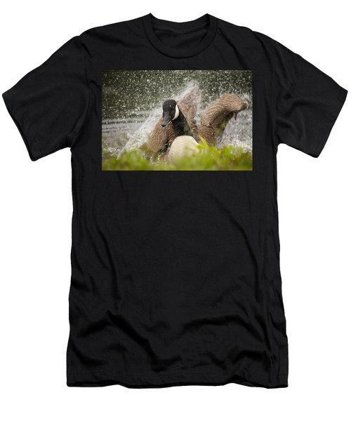 Splishing And Splashing Men's T-Shirt (Athletic Fit)