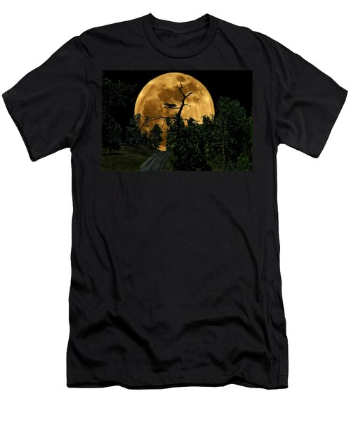 Spooky Road Men's T-Shirt (Athletic Fit)
