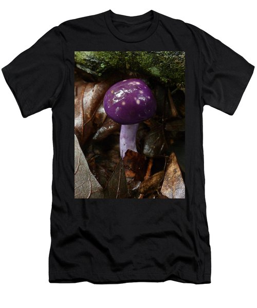 Spotted Cortinarius Mushroom Men's T-Shirt (Athletic Fit)