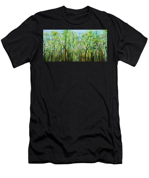 Spring Arpeggio Men's T-Shirt (Athletic Fit)