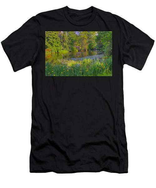 Spring Morning At Mount Auburn Cemetery Men's T-Shirt (Athletic Fit)
