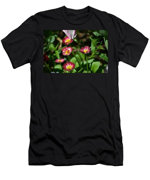 Men's T-Shirt (Slim Fit) featuring the photograph Spring Blooms by Tara Potts