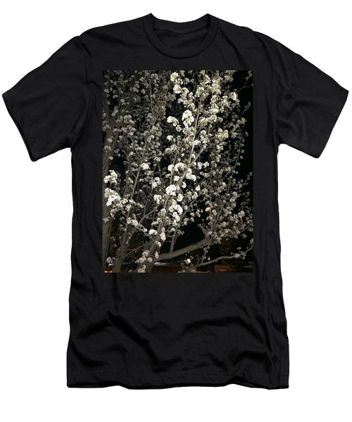 Spring Blossoms Glowing Men's T-Shirt (Athletic Fit)