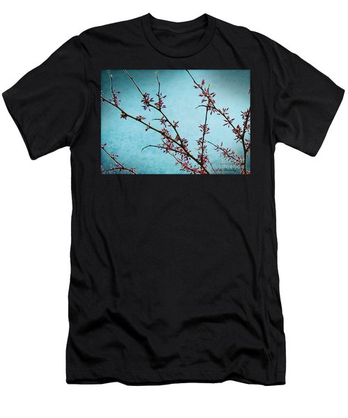 Spring Buds Men's T-Shirt (Athletic Fit)