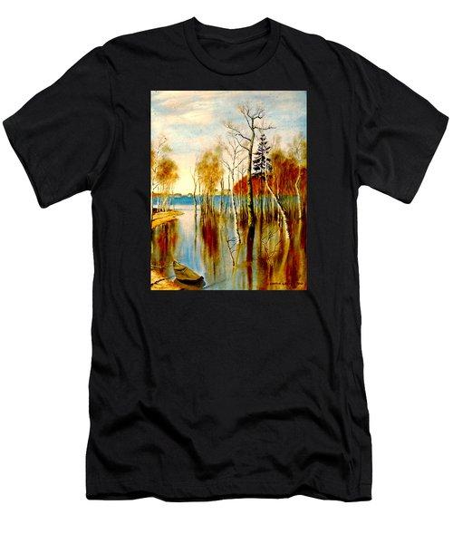 Spring Flood Men's T-Shirt (Athletic Fit)