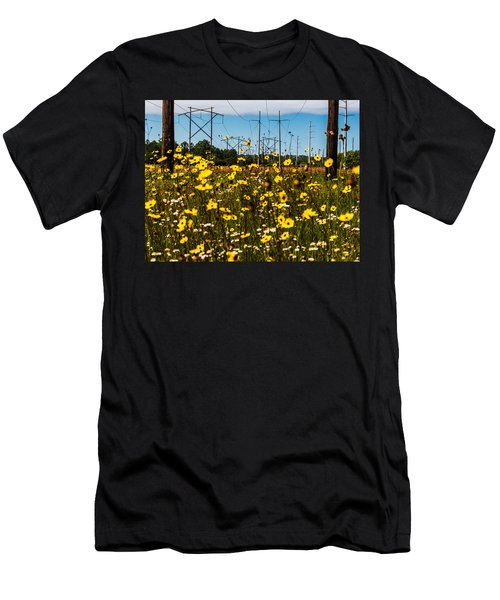 Men's T-Shirt (Athletic Fit) featuring the photograph Spring Flowers by Tyson Kinnison
