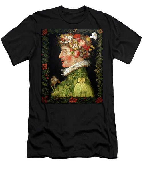 Spring, From A Series Depicting The Four Seasons Men's T-Shirt (Athletic Fit)