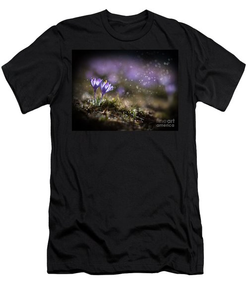 Men's T-Shirt (Athletic Fit) featuring the photograph Spring Impression I by Jaroslaw Blaminsky