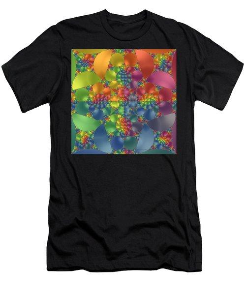 Spring Promises Fractal Men's T-Shirt (Athletic Fit)
