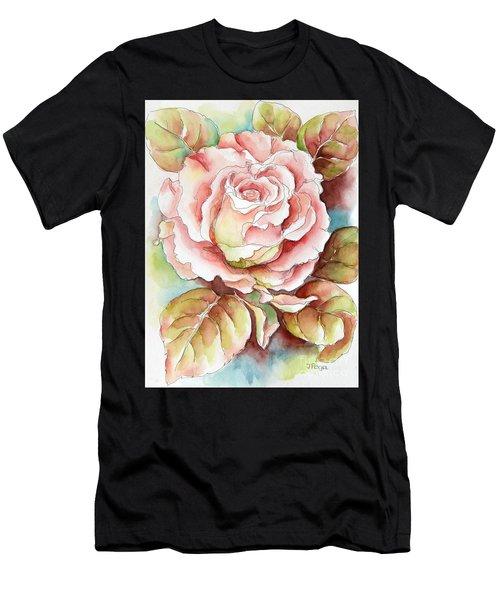 Spring Rose Men's T-Shirt (Athletic Fit)
