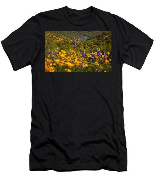 Spring Southwest Style  Men's T-Shirt (Athletic Fit)