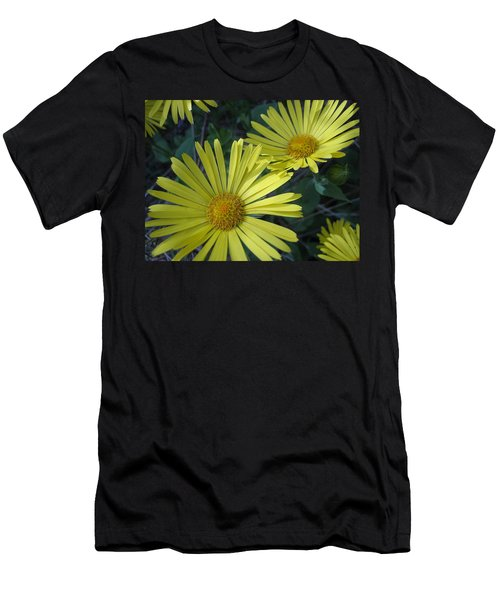 Spring Yellow  Men's T-Shirt (Athletic Fit)