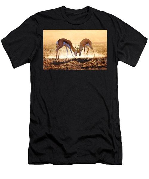 Springbok Dual In Dust Men's T-Shirt (Athletic Fit)
