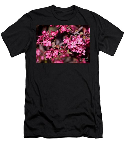 Men's T-Shirt (Slim Fit) featuring the photograph Spring's Arrival by Roselynne Broussard