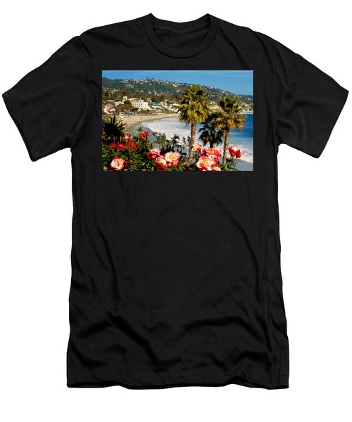 Springtime In Laguna Men's T-Shirt (Athletic Fit)