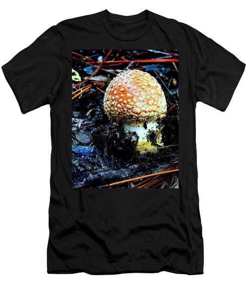 Men's T-Shirt (Slim Fit) featuring the photograph Sprout by Faith Williams