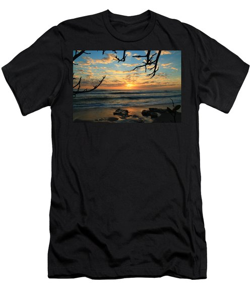 Spying At The Sun Men's T-Shirt (Athletic Fit)