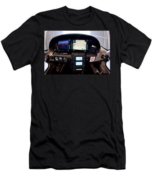Sr22 Cockpit Men's T-Shirt (Slim Fit) by Paul Job