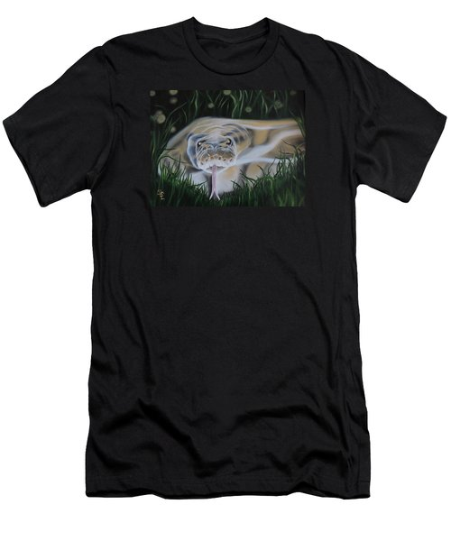Ssssmantha Men's T-Shirt (Slim Fit) by Dianna Lewis