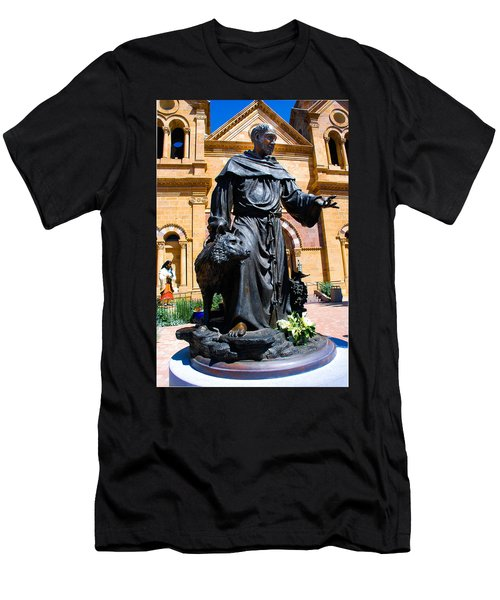 St Francis Of Assisi - Santa Fe Men's T-Shirt (Athletic Fit)