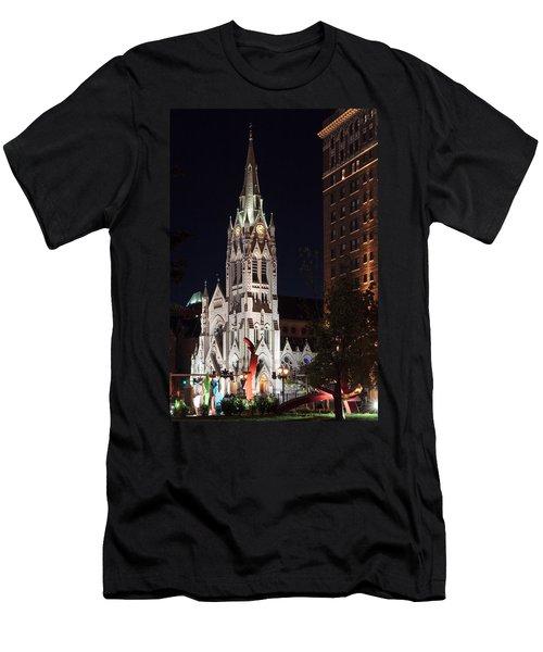 St. Francis Xavier Church Men's T-Shirt (Athletic Fit)