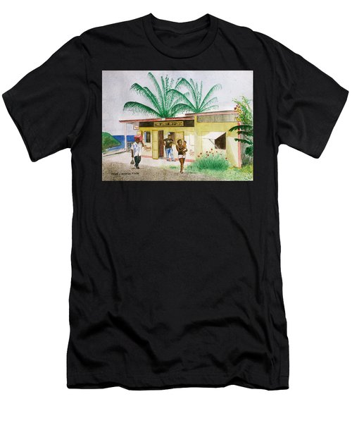 St. Lucia Store Men's T-Shirt (Athletic Fit)