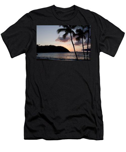 St. Lucian Sunset Men's T-Shirt (Athletic Fit)