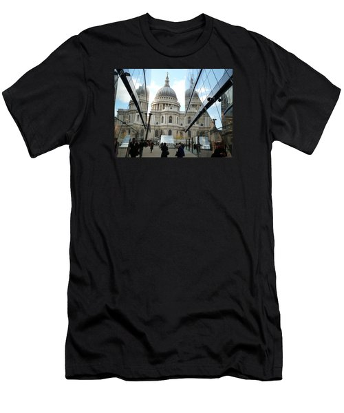 St Paul's Reflected Men's T-Shirt (Athletic Fit)