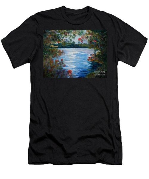 St. Regis Lake Men's T-Shirt (Athletic Fit)
