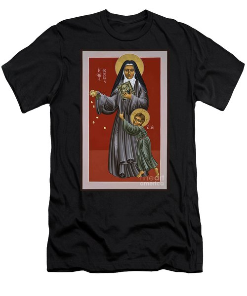 St. Therese Of Lisieux Doctor Of The Church 043 Men's T-Shirt (Athletic Fit)