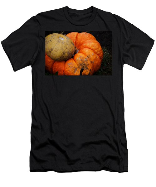 Stacked Pumpkins Men's T-Shirt (Athletic Fit)