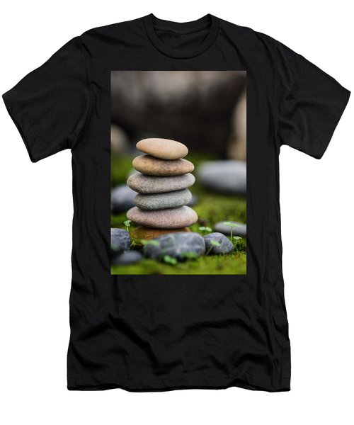 Stacked Stones B2 Men's T-Shirt (Athletic Fit)