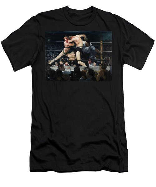 Stag Night At Sharkeys  Men's T-Shirt (Athletic Fit)