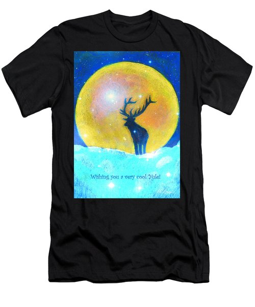 Stag Of Winter Men's T-Shirt (Athletic Fit)