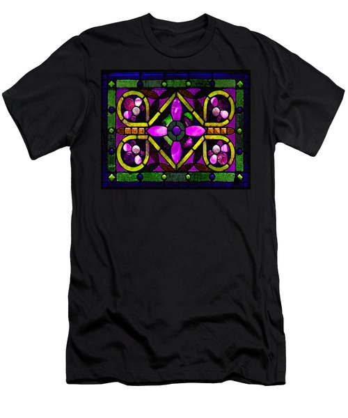 Stained Glass 3 Men's T-Shirt (Athletic Fit)