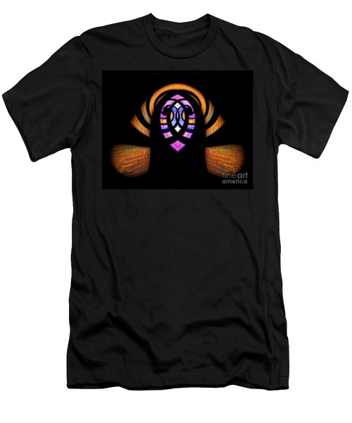 Stained Glass Abstract Men's T-Shirt (Athletic Fit)