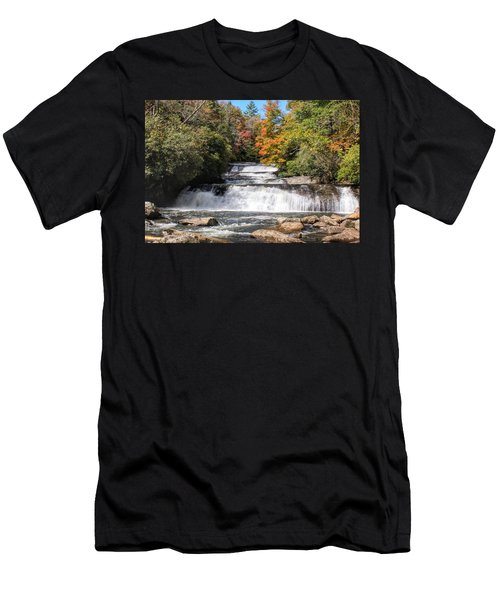 Stairway Falls Men's T-Shirt (Athletic Fit)
