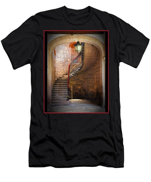 Stairway Of Light Men's T-Shirt (Athletic Fit)