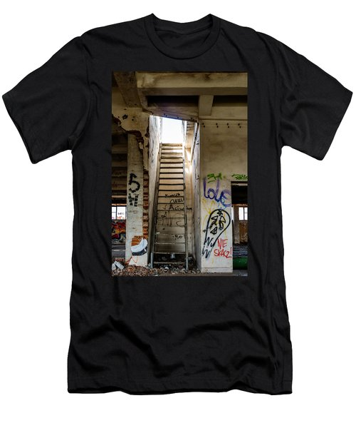 Stairway To Heaven? I Don't Think So... Men's T-Shirt (Athletic Fit)