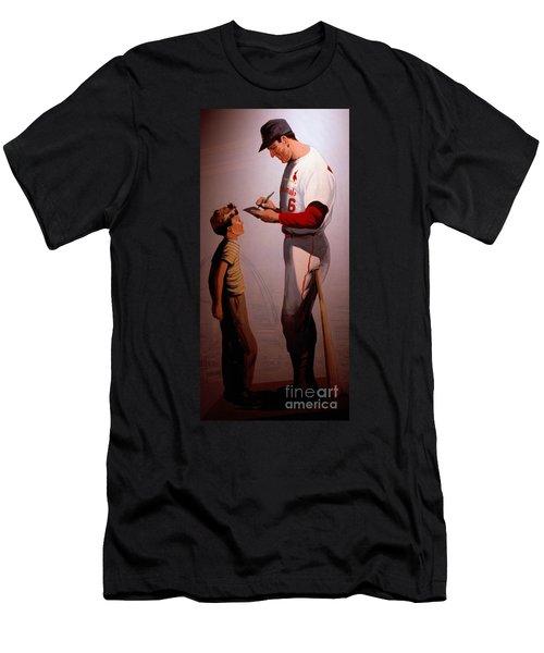 Stan Musial Mural Men's T-Shirt (Athletic Fit)