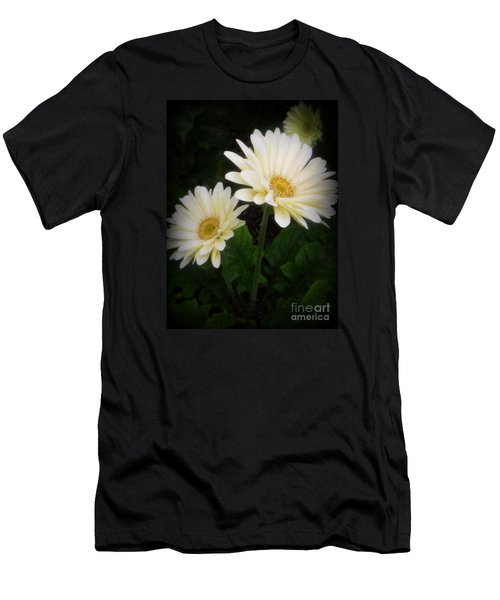 Stand By Me Gerber Daisy Men's T-Shirt (Slim Fit) by Lingfai Leung