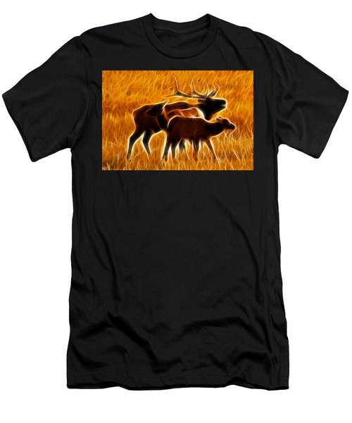 Standing In The Flames Men's T-Shirt (Athletic Fit)