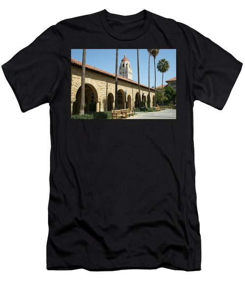 Stanford University Palo Alto California Hoover Tower Dsc643 Men's T-Shirt (Athletic Fit)