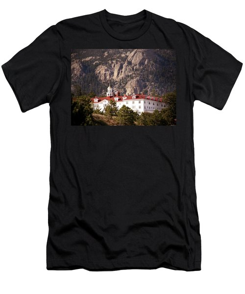 Stanley Hotel Estes Park Men's T-Shirt (Athletic Fit)