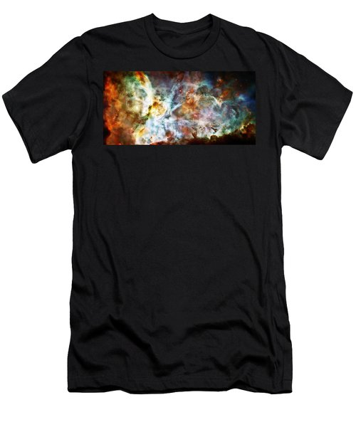 Star Birth In The Carina Nebula  Men's T-Shirt (Athletic Fit)