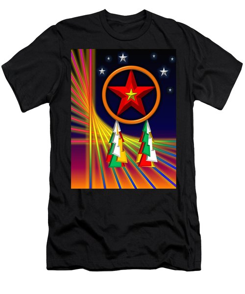 Star Men's T-Shirt (Athletic Fit)