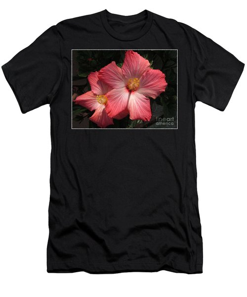Men's T-Shirt (Slim Fit) featuring the photograph Star Flower by Barbara Griffin