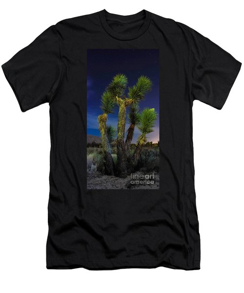 Men's T-Shirt (Slim Fit) featuring the photograph Star Gazing by Angela J Wright